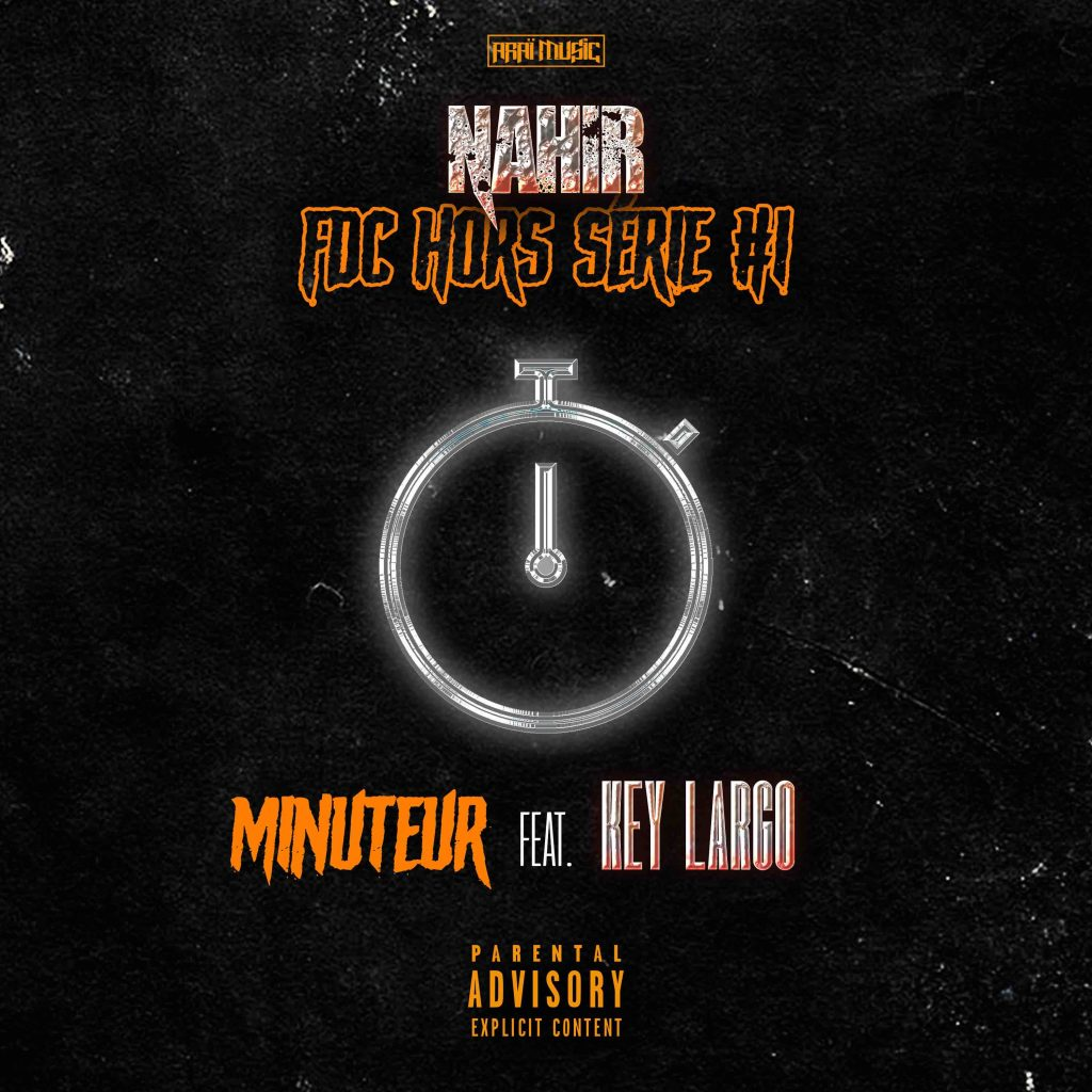 cover single - NAHIR - Minuteur feat KEY LARGO - mdef