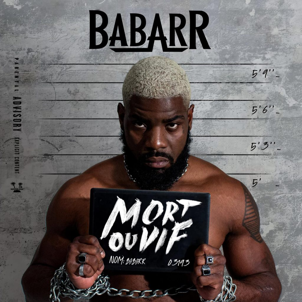 cover album - BABARR - Mort ou vif - mdef