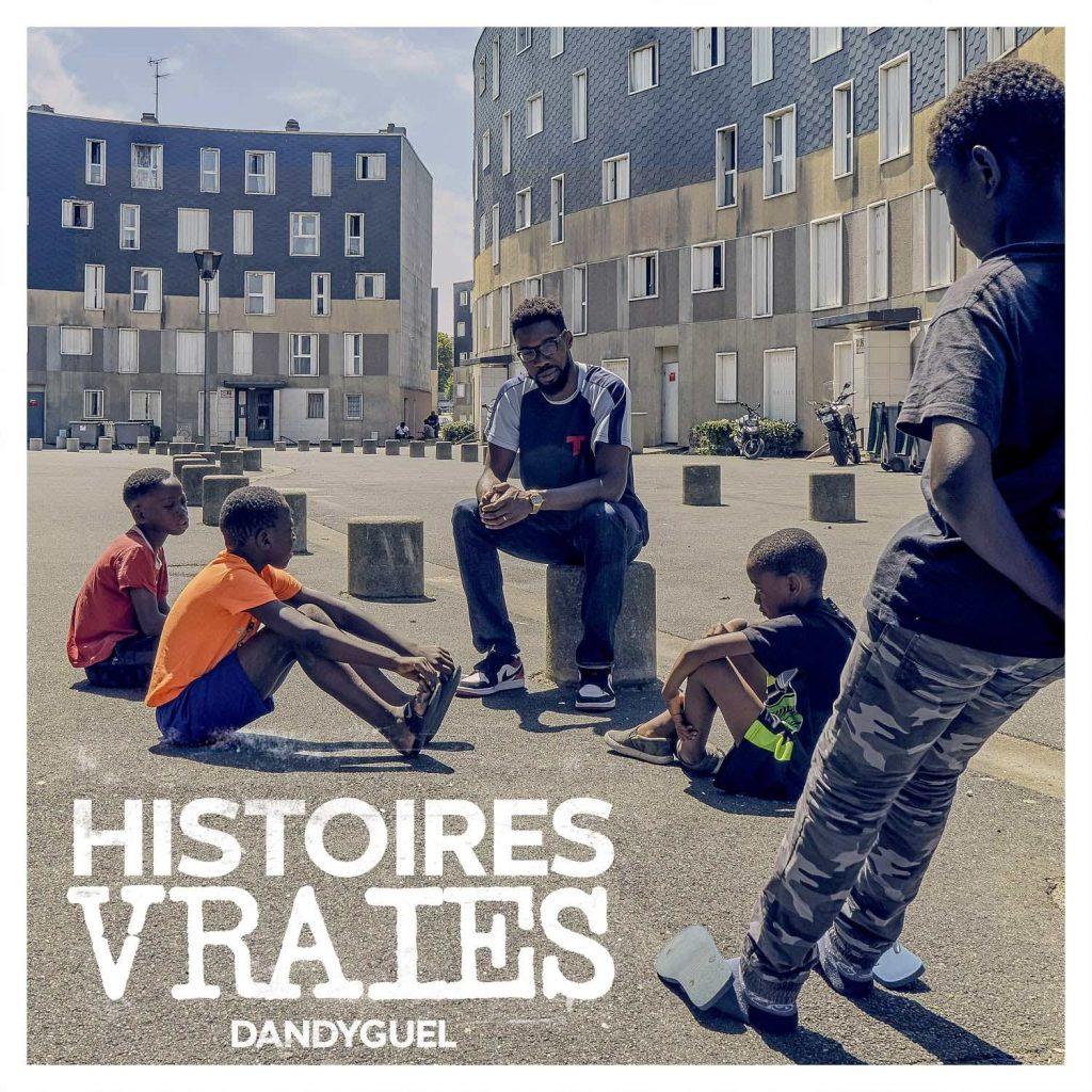 cover album - DANDYGUEL - Histoires vraies - bdef