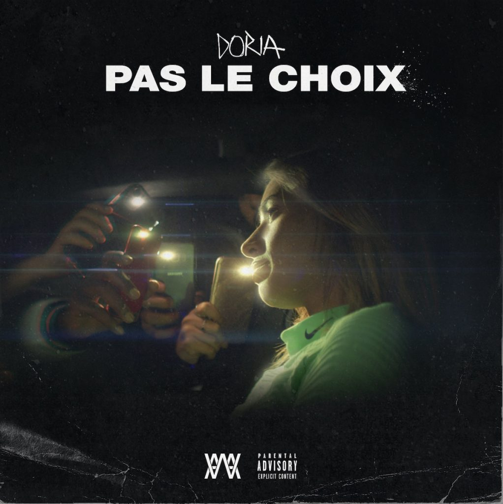 cover single - DORIA - Pas le choix - mdef