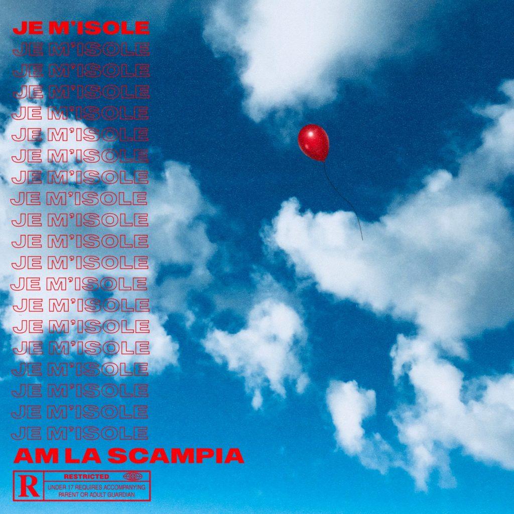 cover single - AM LA SCAMPIA - J'M'Isole